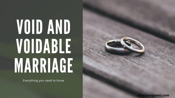 Void and Voidable marriage meaning, differences between void and voidable marriage, causes of void and voidable marriage and legal impact of void and voidable marriage