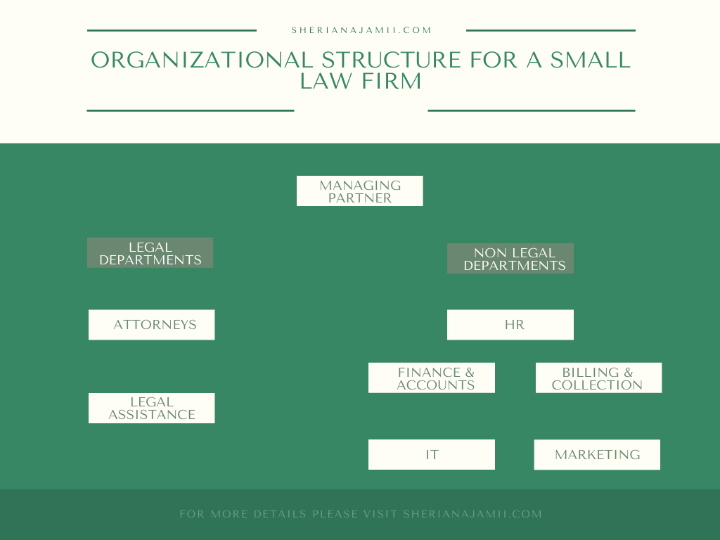 small law firm organizational structure