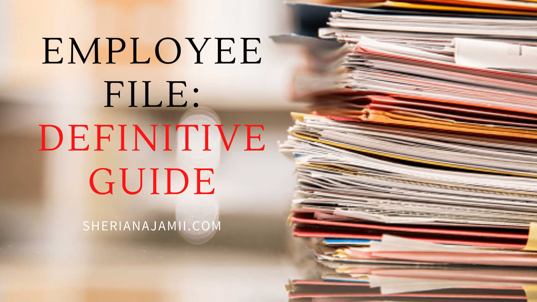 what is employee file
